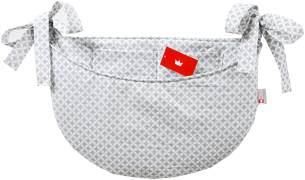 BABYLUX Babybetttasche Organizer BETTTASCHE Spielzeugtasche 106. Marokko Grau