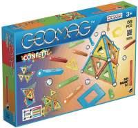 Geomag, Classic Confetti, 355, Magnetkonstruktionen und Lernspiele, Konstruktionsspielzeug, 68-teilig