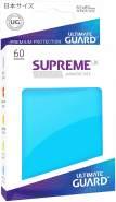 Ultimate Guard UGD010577 Supreme UX Sleeves, Japanische Größe, hellblau