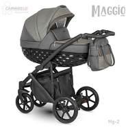 Camarelo Maggio 3in1 Kombikinderwagen Farbe Mg-2 grau