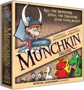 Steve Jackson Games 1483SJG - Brettspiel - Munchkin Deluxe - ( Englisch Ausgabe )