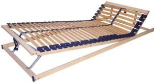 Perbix Top Classic KF - Lattenrost m. Härtegradeinstellung mit KF 160x200 cm