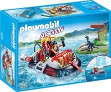 Playmobil 9435 - Luftkissenboot mit Unterwassermotor Spiel