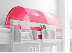 Ticaa Tunnel für Hoch- und Etagenbetten - rosa-pink
