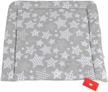 BABYLUX Wickelauflage Baby Wickeltisch Wickelunterlage 80x70 cm 96 - Sterne Groß