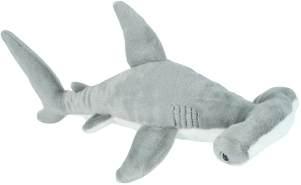 Wild Republic Plüsch Hammerhai, Cuddlekins Kuscheltier, Plüschtier, 20 cm