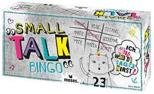 moses. Verlag GmbH 90339 Small Talk Bingo, bunt