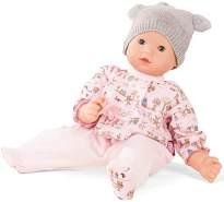 Götz 1827992 Maxy Muffin Companions Puppe - 42 cm große Babypuppe mit blauen Schlafaugen, ohne Haare und Weichkörper - Weichkörperpuppe in 4-teiligen Set
