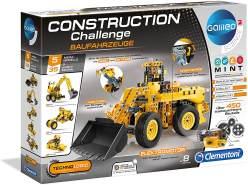 Clementoni 59030.8 Construction Challenge - Baufahrzeuge