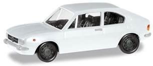 herpa 024549-005 Alfa Romeo Alfasud Ti, weiß, PKW zum Basteln und Sammeln