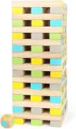 small foot 12027 Wackelturm XXL 'Active' aus FSC® 100%-zertifiziertem Holz, Outdoor-Familienspiel, ab 3 Jahren
