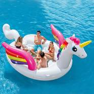 Intex 57266 - Einhorn Unicorn Party Island Schwimminsel Badeinsel XXXL groß