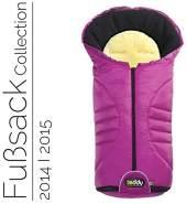 Odenwälder 12330-325 Fusssack mit Lammfell Teddy one2 Plus fuchsia Modell 2013/2014, universell einsetzbar