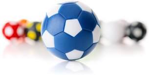 WINSPEED KICKERBALL by Robertson 35mm 10er Set (blau-weiß)