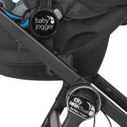 Baby Jogger BJ90325 Autositzadapter für City GO und Graco SnugRide Babyschalen, schwarz