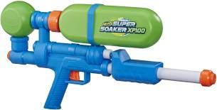 Nerf Super Soaker XP100 Wasserblaster – Wasser-Action mit Druckluft – abnehmbarer Tank – für Kinder, Teenager, Erwachsene