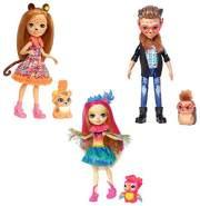 Mattel Enchantimals Gepardenm dchen Cherish