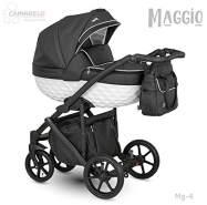 Camarelo Maggio 3in1 Kombikinderwagen Farbe Mg-4 schwarz