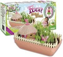TOMY 'Feen Küchen Garten', Kreatives Spiel zum Selber Gestalten, Mit Echten Grassamen, Geschenke für Kinder, Lernspiele für Kinder, Hochwertiges Kinderspielzeug für Drinnen und Draußen