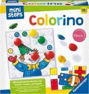 Ravensburger ministeps 4165 Colorino, Lernspiel für Kleinkinder ab 18 Monaten - So wird Farben lernen zum Kinderspiel - mit über 30 abwechslungsreichen Motiven