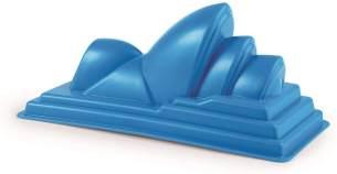 Hape E4040 - Opernhaus, Strandspielzeug/Sandspielzeug, blau