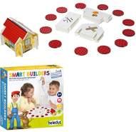 Beleduc 22521 Smart Builders Kinder und Familienspiel