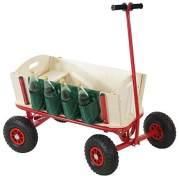 Bollerwagen Handwagen Leiterwagen Oliveira inkl. Sitz, Bremse, Flaschenhalter