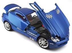 Bauer Spielwaren 536653 Modellauto, Blau, One Size