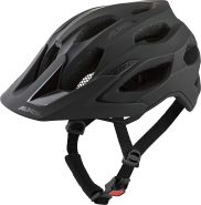 Alpin Fahrradhelm CARAPAX 2. 0 52-57 cm, 033 black matt