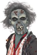 Maske Verwesender Zombie Über Kopf Latex, One Size