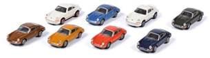 Schuco 452650200 Porsche 911, 8er-Set Maßstab 1:87