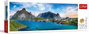 Puzzles - '500 Panorama' - Lofoten Archipelago, Norway