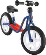PUKY 4063 'LR 1 L' Laufrad, für Kinder ab 90 cm Körpergröße, bis 25 kg belastbar, höhenverstellbar, blau-rot / Capt'n Sharky