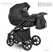 Camarelo Maggio 3in1 Kombikinderwagen Farbe Mg-7 schwarz/schwarz