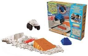 Super Sand 83793 Goliath Monster Truck-magischer Sandburgen im Kinderzimmer-Empfohlen ab 4 Jahren