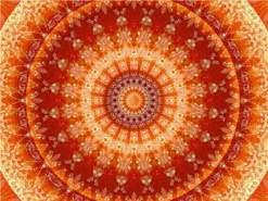 CALVENDO Puzzle Mandala Lebensfreude 1000 Teile Lege-Größe 64 x 48 cm Foto-Puzzle Bild von Christine Bässler