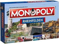 Winning Moves 45304 - Monopoly Rheinfelden