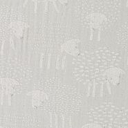 Concord Decke 120x120cm sheep grey