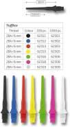 Tufflex Soft Tips Darts (2BA) 6 mm 100 Stück gelb