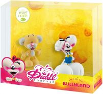 Bullyland 43466 - Spielfigurenset, Diddl Forever, Diddl und Pimboli
