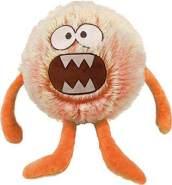 Sunflex Fluffyball Evil Eddie Plüschball 23 cm zum Spielen und kuscheln
