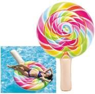 Intex 58753 Luftmatratze aufblasbar 'Lollipop' 208 x 135 cm