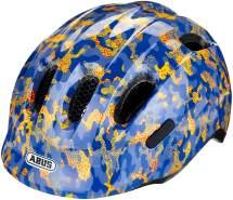 ABUS Fahrradhelm Smiley 2. 0 Kinder - camou blue - 50-55 cm