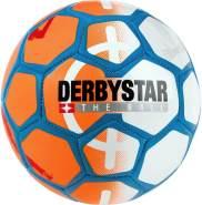 Derbystar Miniball Street Soccer, orange/weiß/blau, Gr. mini