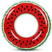 Beach Art–Ring Aufblasbarer Schwimmring Meer Wassermelone, 1076