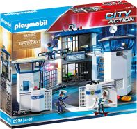 Playmobil 6919.0 6919 Polizeistation mit Gefängnis, multi