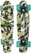 Retro-Skateboard Free Spirit grün 79 cm