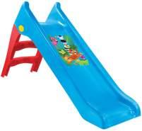 Mochtoys Kinderrutsche 11965, Wasserrutsche, 140 cm Rutschlänge, wetterfest blau