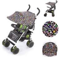Chipolino Universal Sonnenschutz Kinderwagen, ABC,Schutz vor Sonne, Wind, Staub