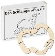 Bartl 102752 Mini-Holz-Puzzle Das Schlangen-Puzzle aus 10 kleinen Holzteilen